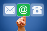 Contact by eMail or Internet