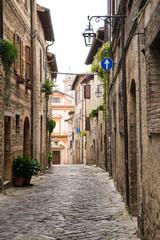 Vicolo romantico in Italia