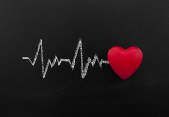 Heartbeat on blackboard