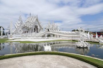 wat rong khun (white temple) – chiang rai – thailand