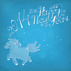 Happy new year 2014. Year of the Horse.