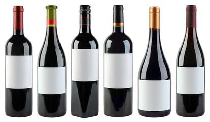 Wine Bottles Template