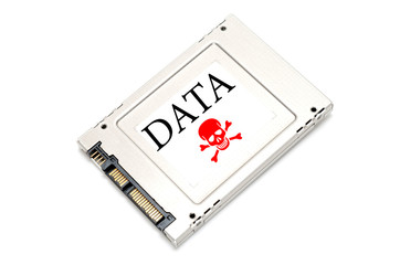 Concept hacked data drive