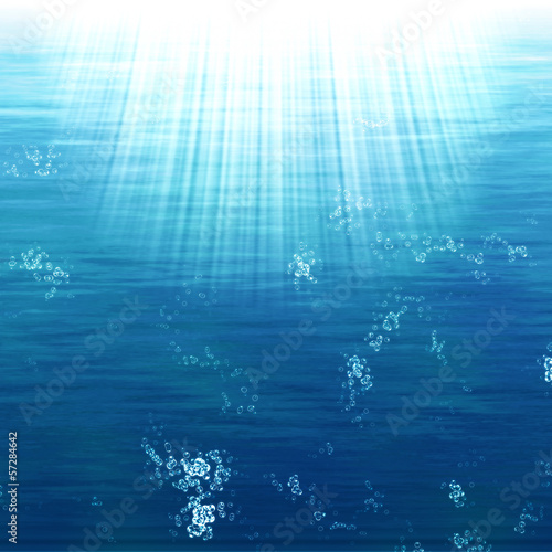 Abstract underwater