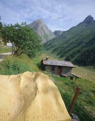 sentier nature de l'orgère - parc national de la vanoise