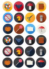 round icons set 21