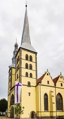St Nicholas church in Lemgo, Germany