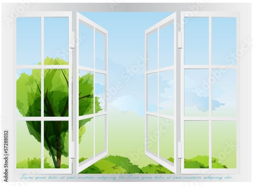 Window view design