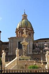 Fontana di Piazza Pretoria a Palermo