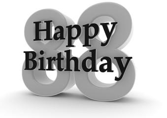 Happy Birthday for 88th birthday