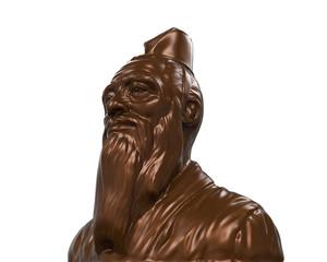Bronze Statue of Confucius