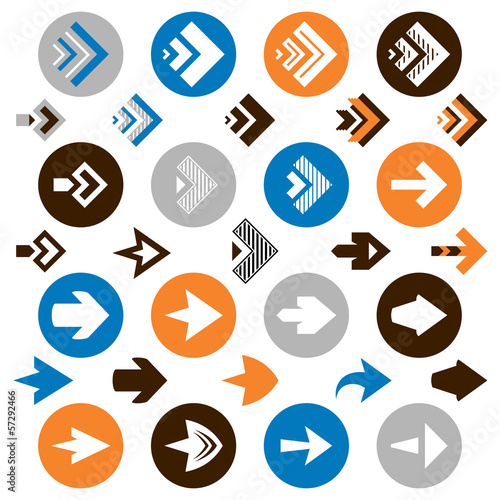 collection of arrow icons