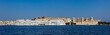 Panorama of Lake Pichola, Lake palace and City Palace. Udaipur,