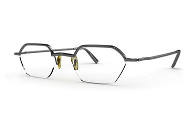 black eyeglasses, isolated on white