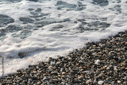 Sea Water and Stones