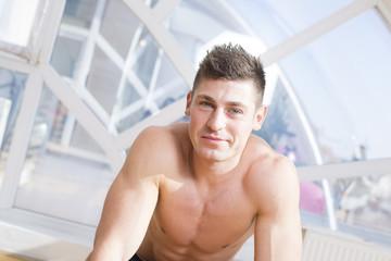 Man in a gym