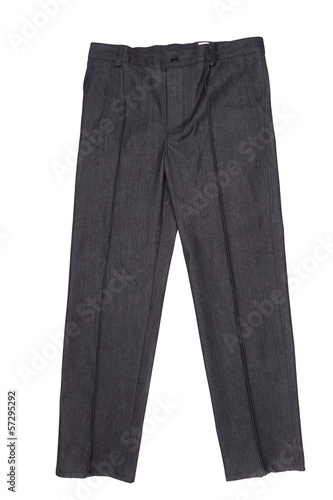 Men gray pants