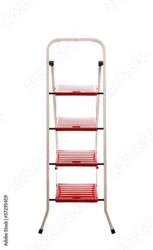 Stepladder. Isolated on a white background.