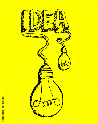 set of idea Light bulb vector icon