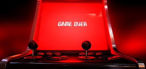 Arcade Game Game Over