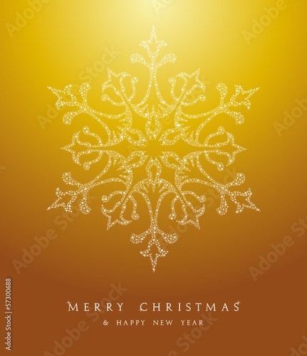 Luxury Merry Christmas snowflake background EPS10 vector file.