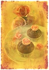 vintage rosenmuffins