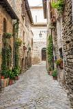 Fototapeta Uliczki - Vicolo romantico italiano © alexandro900