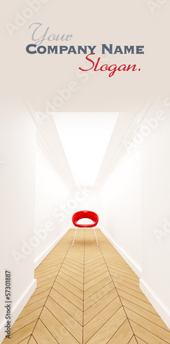 Chair on a corridor