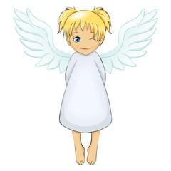 blondes Engelchen