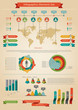 Infographic element. Statistic of population.