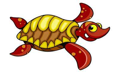 red turtle cartoon