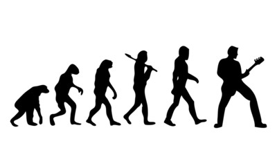 Evolution Guitar Bass