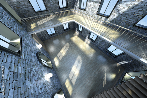 Loft Interior..