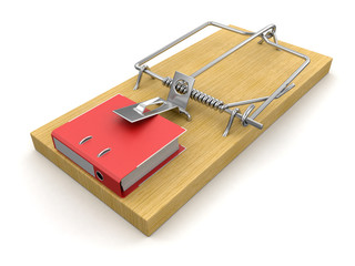 Mousetrap and Document (clipping path included)