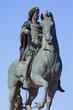 Famous statue of Louis XIV in Lyon