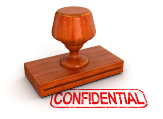 Rubber Stamp Confidential