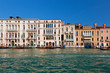 Venice, Grand Canal view, Italy. Sunny day