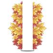 осенние листья фон закладка