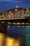 Portland Bridge at Night