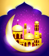 abstract ramadan mubarakh background