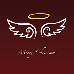 Weihnachten / Engel Flügel / Merry Christmas