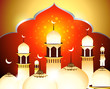 Golden Eid Background