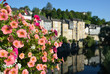 Summer view of the French town Oloron-Sainte-Maria