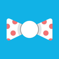 Vector Polka Dot Bow Tie