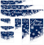 Snowflakes Web Banners