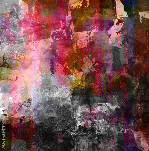 canvas print picture mixed media grunge