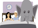 Impotence is like an elephant in the bedroom