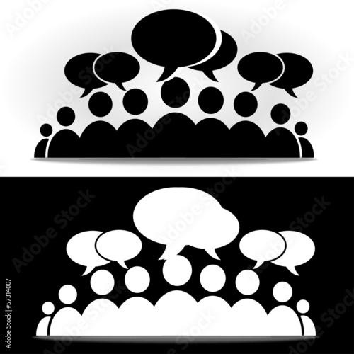 чёрное и белое форум социальное сообщество