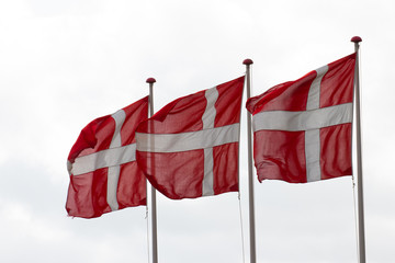 Dänische Nationalflagge