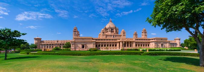 Umaid Bhawan palace hotel in Jodhpur